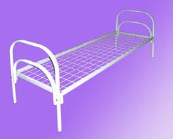 Кровать 1-но ярусная спинки металл. сетка с ячейкой 50х50 из проволоки сечением 4мм