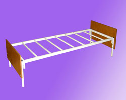Кровать 1-но ярусная спинки ЛДСП на 7-ми рейках