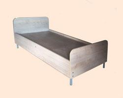 Кровать с царгами ЛДСП