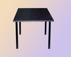 Стол обеденный на м/к кр. труба крышка ЛДСП