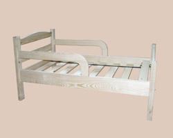 Кровать детская с боковыми поручнями