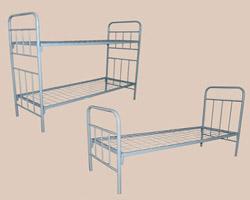 Кровать 1-ярусная сборно-разборная спинки м/к сетка с ячейкой 100х100 из проволоки 4мм