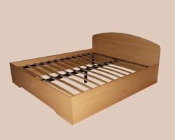 Кровать двуспальная с (ортопедическим основанием)