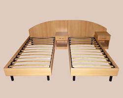 Кровать 1-но спальная (комплект 2шт)