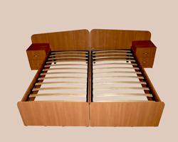 Кровать односпальная ( комплект 2шт)