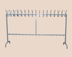 Вешалка металлическая 2-сторнная на 34 рожка (ВМ_1)