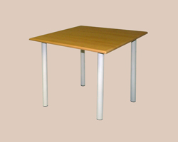 Стол обеденный на м/к, крышка МДФ 18 мм ПВХ пленка 4 ноги