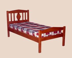 Кровать 1 ярусная ЖАННА