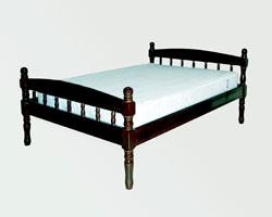 Кровать двуспальная из сосны