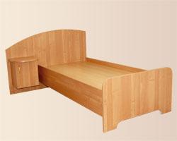 Кровать с тумбой
