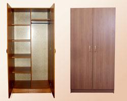 Шкаф для одежды комбинированный офисный