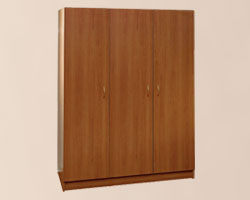 Шкаф для одежды трехстворчатый