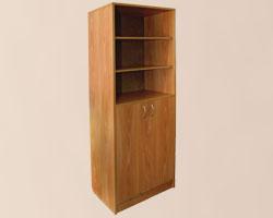 Шкаф офисный для документов со стеклянными дверками