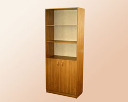 Шкаф для документов полуоткрытый на рег ножках