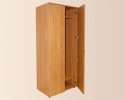 Шкаф двустворчатый со штангой